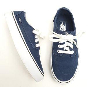 Van's Navy Blue Low Top Shoes